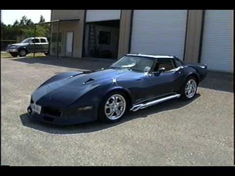 1980 Corvette Customized 383cid 450hp Engine Youtube