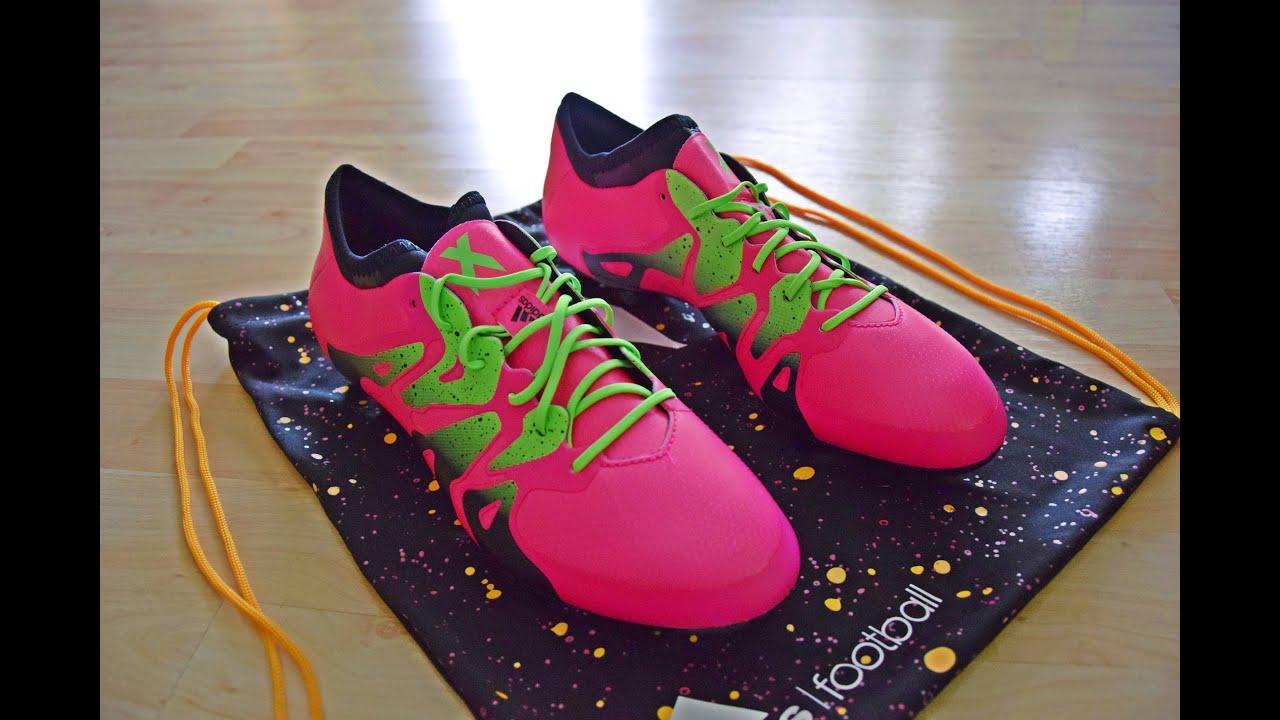 adidas x15 rosados