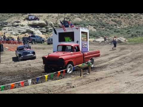 Superior Wyoming mud bogs July 2nd 2016