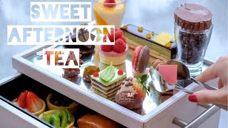 Kuliner Myfunfoodiary: Sweet Sunday Afternoon High Tea at Peacock Lounge, Fairmont Hotel Jakarta