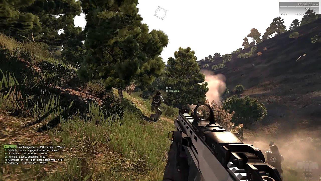 Arma 3 Alpha - Gameplay on 7950 Full HD - YouTube