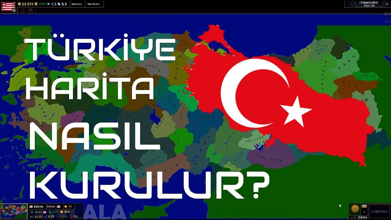 Türkiye Haritası Nasıl Kurulur?   Age of Civilizations 2 - Gylala