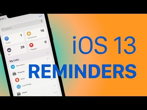 iOS 13 makes the Reminders app a great task manager [Video]