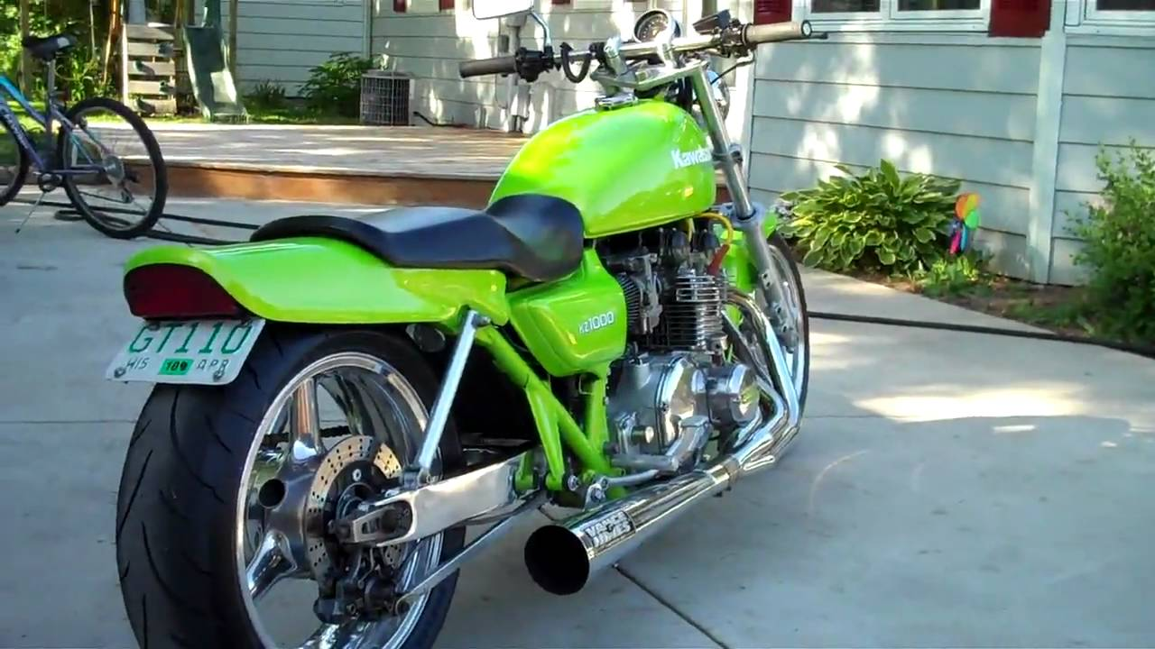 Kz1000 Wiring Diagram 2008 Ford F250 1977 Kawasaki Drag Bike In Hd Youtube
