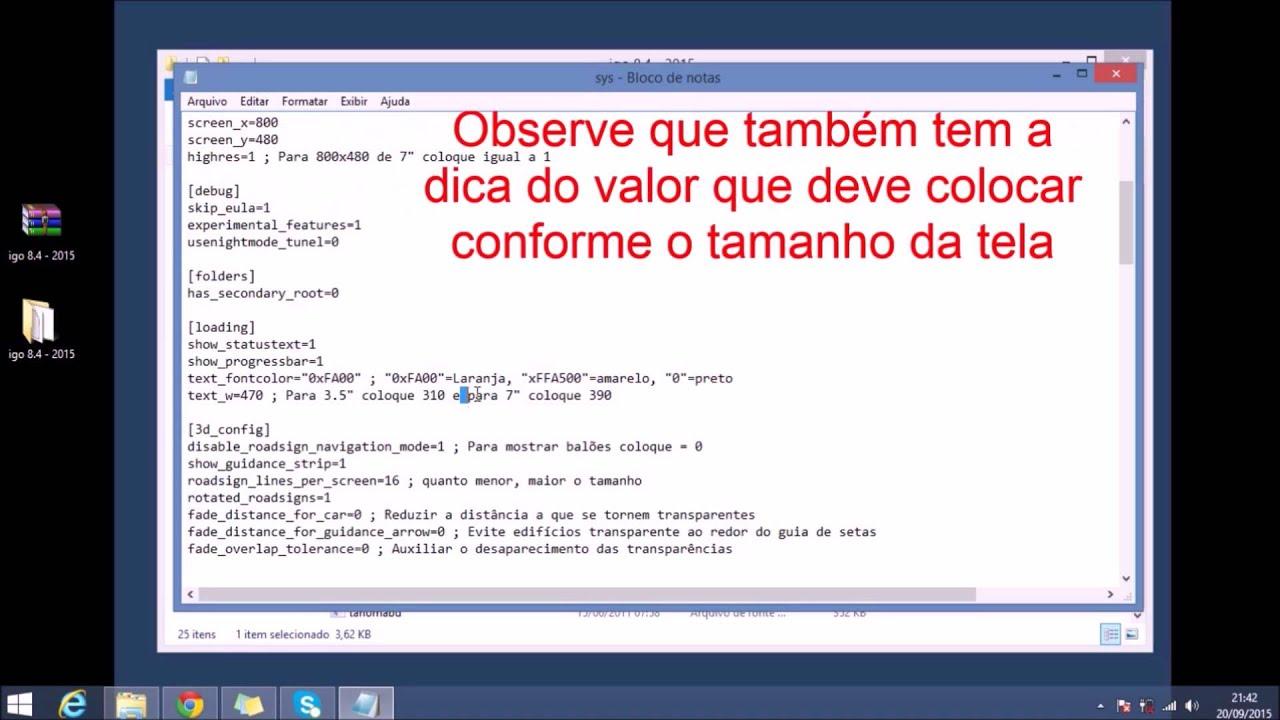 IGO 8.4.3 BAIXAR AMIGO