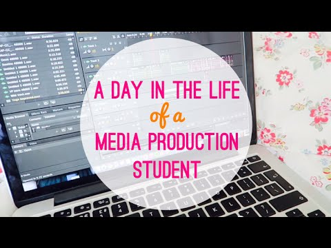A Day in the Life of a Media Production Student