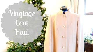 Vintage Coat Haul!!!