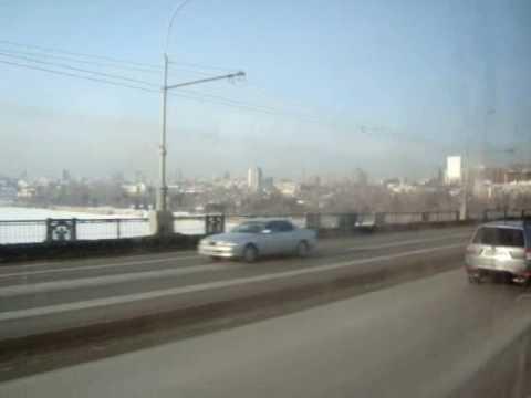 видео: Новосибирск, Коммунальный мост