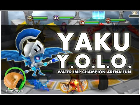 SUMMONERS WAR : Y.O.L.O. YAKU (water imp champion arena testing)