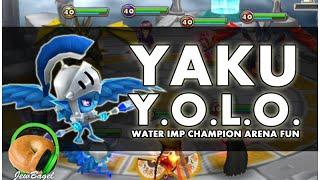 SUMMONERS WAR : Y.O.L.O. YAKU (water imp champion arena testing)