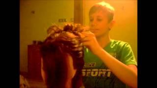 ładna fryzura weselna