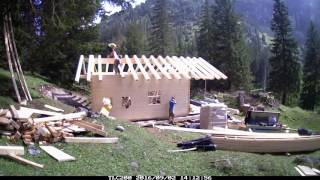 Blockhütte Untere Rossalpe