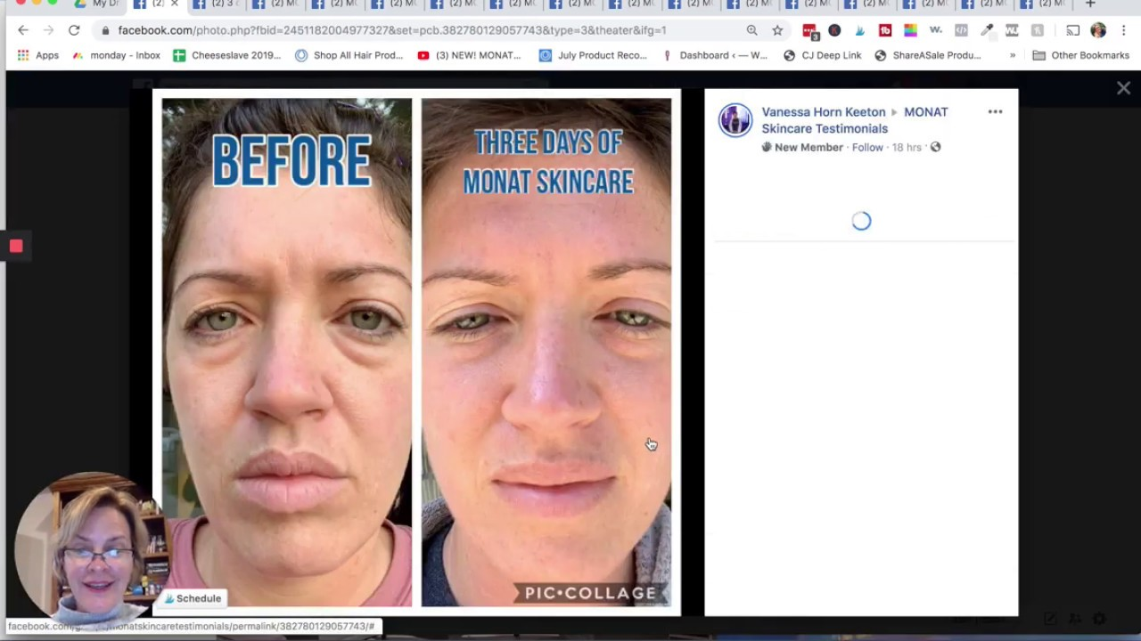 Monat Skin Care Reviews Brand New Youtube
