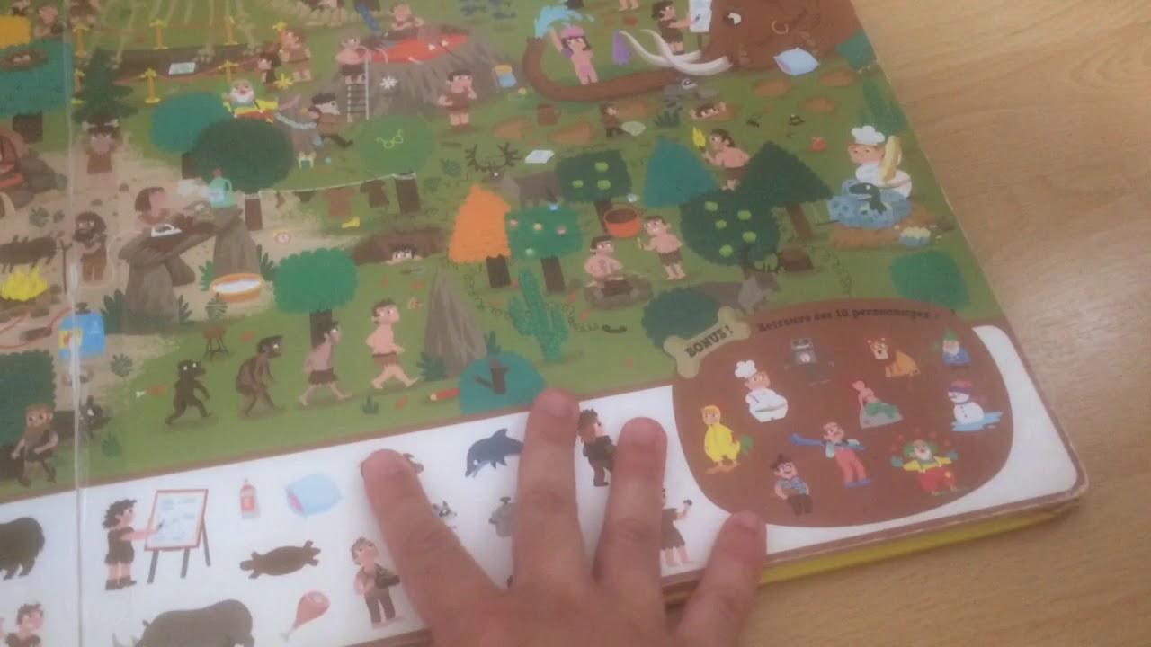 Livre Jeux Cherche Et Trouve Geant Dans Le Temps Editions Auzou