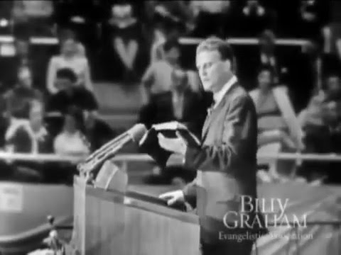 Billy Graham  - Why the cross? - Charlotte NC 1958