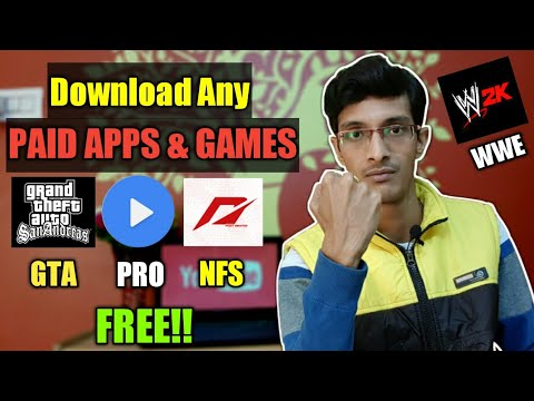 How To Get Unlimited Free PAID APPS & GAMES On Any Android Device! L Get Unlimited Free PAID APPS!!
