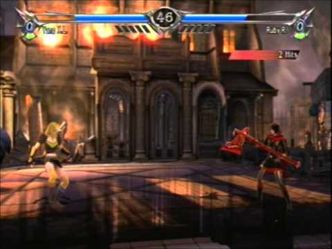 Soul Calibur V Anime Battles Ruby Rose Vs Yang Xiao Long