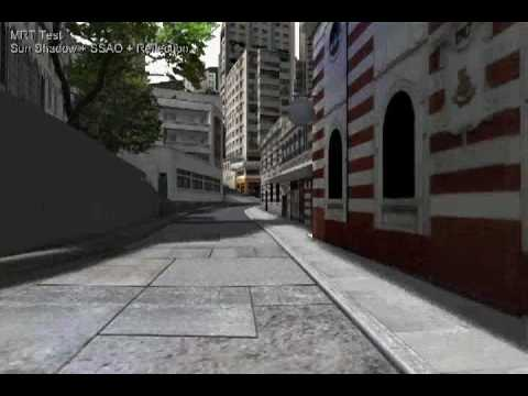 Hong Kong in VRML - X3D - Web3D (Shader Test MRT 1)