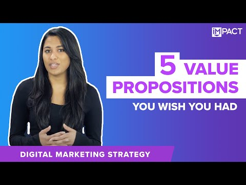 5 Examples of Value Proposition You Wish You Had