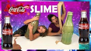 1 GALLON OF COCA COLA SLIME VS 1 GALLON OF COCA COLA SLIME - MAKING GIANT SLIMES