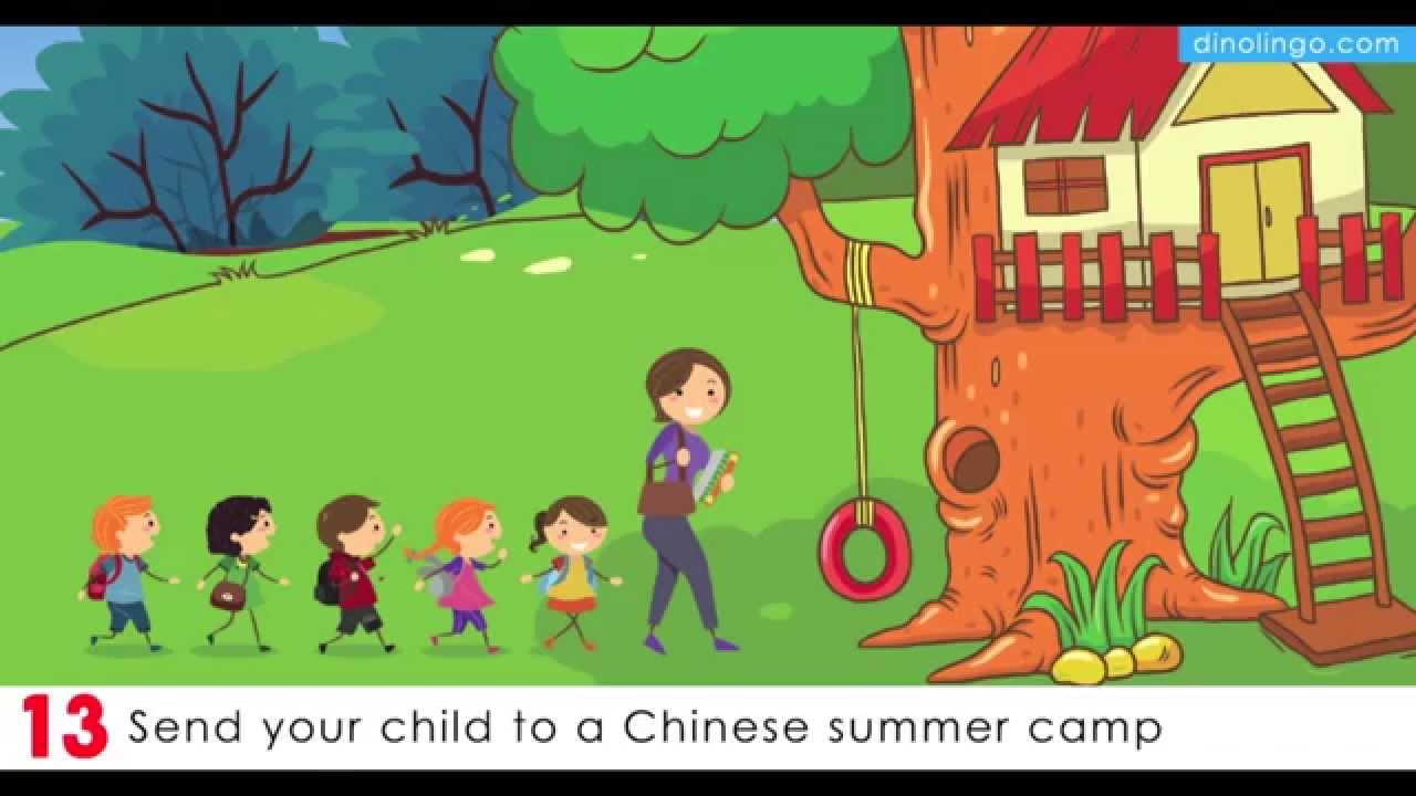 Teach kids Chinese - 15 Ways for children to learn Chinese