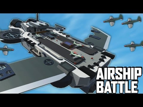 Avengers Helicarrier!  FLYING AIRCRAFT CARRIER MAP! (Ravenfield Early Access Gameplay)