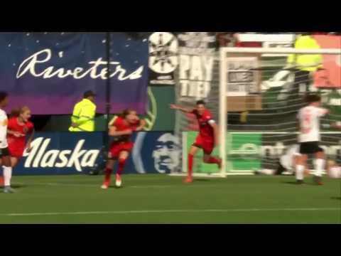 NWSL Playoff Highlights   Portland Thorns FC 3, Western New York Flash 4 (a.e.t.)