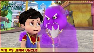 Vir : The Robot Boy | Vir Vs Jinn Uncle | 3D Action shows for kids | WowKidz Action