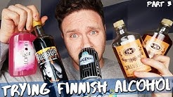 TRYING FINNISH ALCOHOL | Part 3
