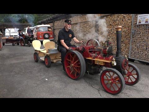 (UHD/4K)  Dampftraktormodelle Münsingen Schweiz 2014/ Model Road Steam!