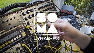 SOMA LYRA8-FX Crazy Eurorack Delay Module Demo