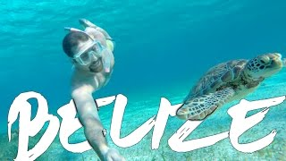 Cinematic Vlog: BELIZE TRAVEL - From the Jungle to the Ocean