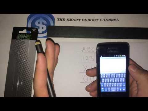 E-circuit Stylus Pen Review (Dollar Tree Item)