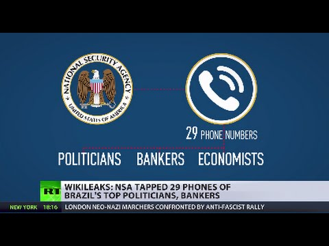 NSA tapped the phones of 29 top Brazilian officials - WikiLeaks