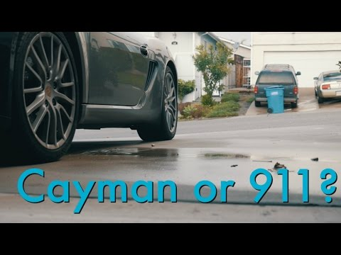 Porsche Cayman or Porsche 911? How I chose
