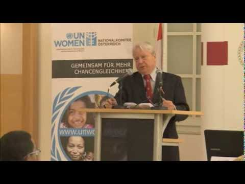 UN Watch human rights conference - Intro by Vienna Diplomatic Academy director Amb. Hans Winkler