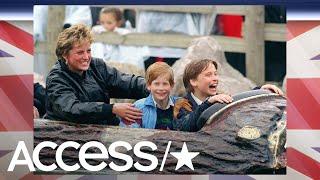 Princess Diana's Former Bodyguard Talks Similarities Between Prince Harry & Diana | Access