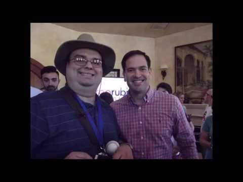 8/13/2016 Marco Rubio Campaign Event And Autographs Photos