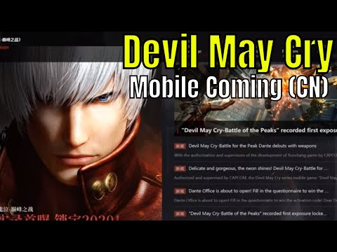 Devil May Cry Mobile Coming to China Pre Register Trailer