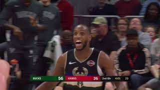 Atlanta Hawks vs Milwaukee Bucks | December 27, 2019