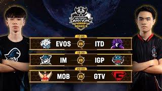 ITD vs EVOS | IGP vs IM | MOB vs GTV [Vòng 4] [18.09.2019] - Đấu Trường Danh Vọng Series B Mùa 1
