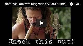 Epic Jam Didgeridoo, Foot drums, 12 string guitar by The best & craziest ONE-MAN BAND, Nathan Kaye
