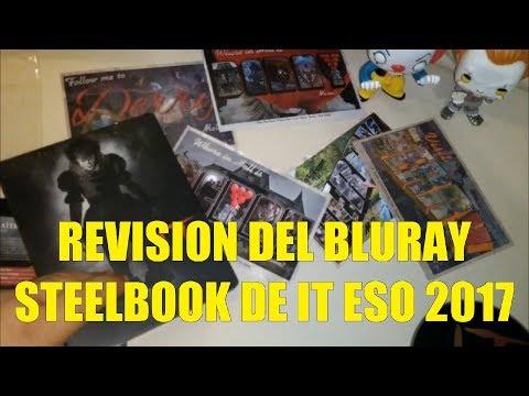 Revision del Blu Ray Steelbook de IT  ESO  2017