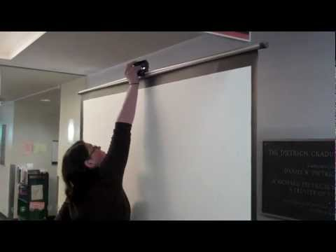 Setting Up The Projection Screen