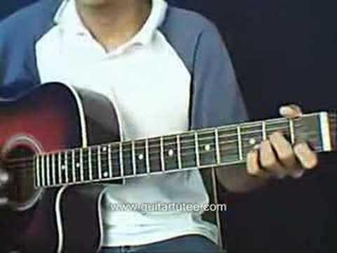 Breakaway (of Kelly Clarkson, by www.guitartutee.com)