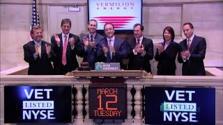 Vermilion Energy Lists on the NYSE
