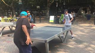 Ping Pong in Seattle Park - building a connection