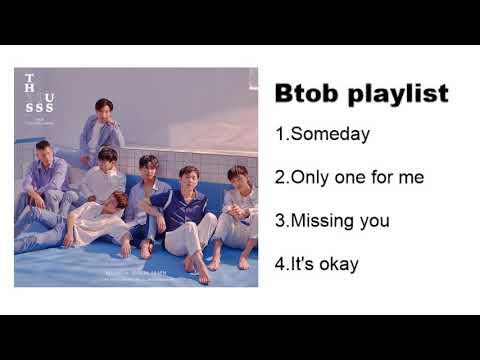 💙【BTOB】Playlist 2018💙
