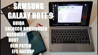 SAMSUNG GALAXY NOTE 9 Guida Sblocco Bootloader, Recovery