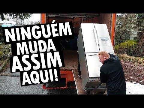DIA DA NOSSA MUDANÇA DE CASA NO CANADÁ - Vlog Ep.94